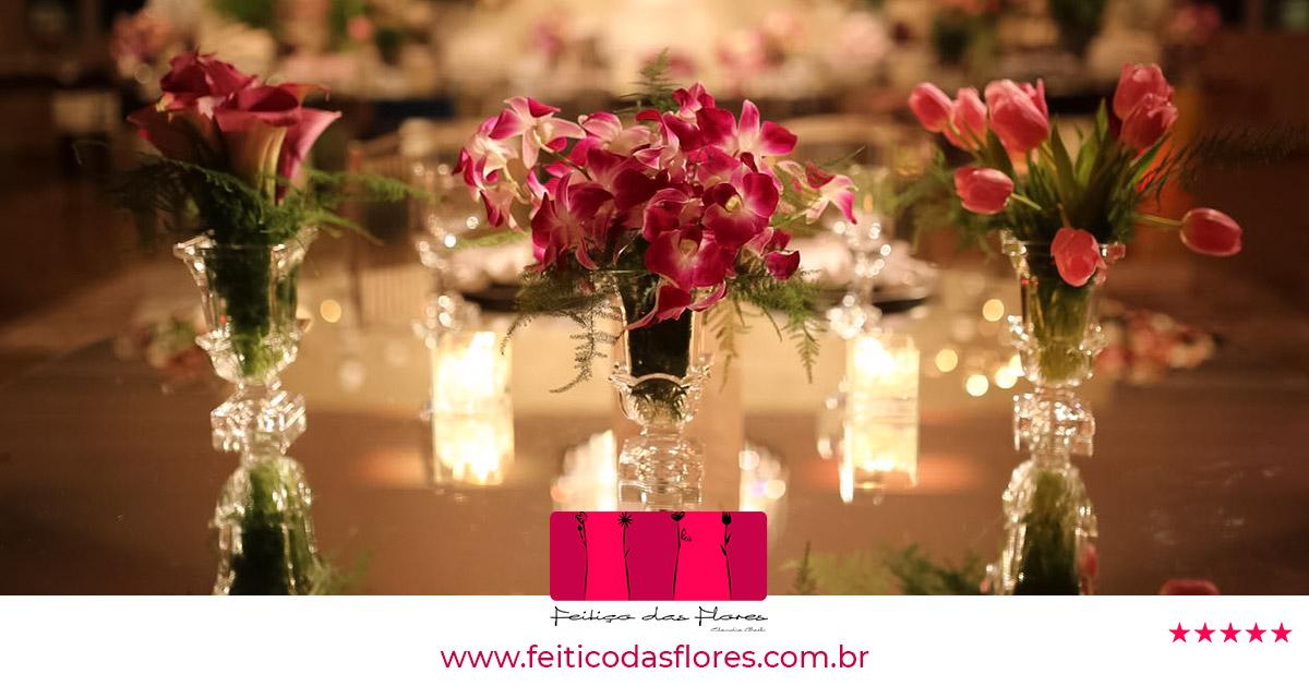 Depoimentos Feitiço das Flores - Há mais de 18 anos Decorando Sonhos com Flores!